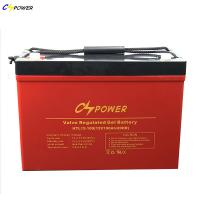 China 12v 100Ah Anti super cold / High Temperature Deep Cycle GEL Battery For solar system (OEM Brand freely) on sale