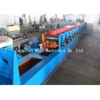 Quality Automatic PU Foam Roller Shutter Door Roll Forming Machine 50HZ / 3 Phase for sale