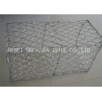 China Channel Linings Double Twist Wire Mesh / Hexagonal Wire Mesh For Sea Wall wholesale