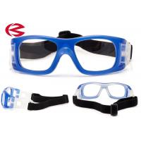 China Customized Logo Basketball Sports Glasses Protective Elastic Eye Safety Goggles wholesale