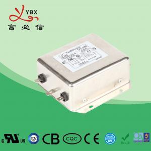 China 30A 250V 440VAC Low Pass EMC Line Filter For Servo Motor OEM Service wholesale