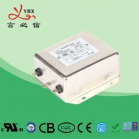 China AC Electrical Noise Filter YB21F2-30A , Low Pass Emi Rfi Power Line Filter wholesale