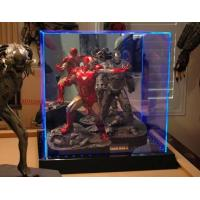 China Toys Locking Acrylic Clear Display Case Box With Led For Trade Show wholesale