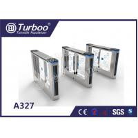 China Office Security Swing Electronic Turnstile Gates Mechanical Anti - Pinch Function wholesale