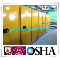 China Vented Flammable Safety Cabinets , Fireproof Chemical Storage Cupboards 22 GAL wholesale