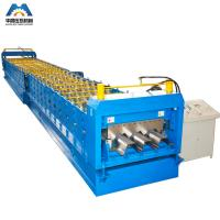 China 0.8 - 2mm Galvanized Steel Sheet Floor Deck Roll Forming Machine 380V 50Hz 3 Phase wholesale