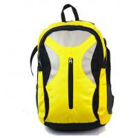 China Yellow Women'S Computer Backpack / Womens Laptop Backpacks For Hiking wholesale