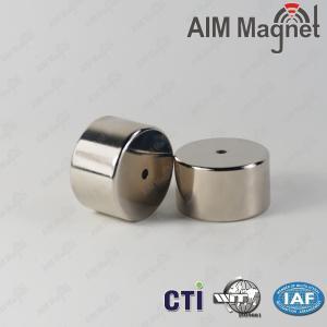 China Big Disc Permanent N52 Neodymium Magnets wholesale