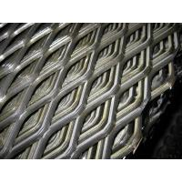 China Diamond Hole Shape Expanded Metal Mesh 0.5-6.0mm Thickness Flat Surface For Decoration wholesale