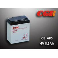 China 6V 8.5AH CB685 VRLA AGM Battery , Black Retardant Medical Equipment Battery wholesale