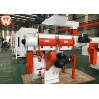 China 250mm Ring Die Animal Feed Pellet Machine With Siemens Motor And SKF Bearing on sale