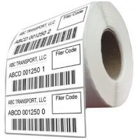 China Durable Logistic Labels Customized Size For Delivery / Shipping wholesale
