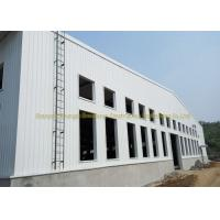 China Wide Span Warehouse Steel Structure Prefabricated Warehouse Buildings In Steel wholesale