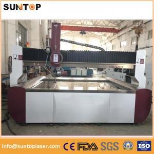 Aluminium alloy cnc water Jet cutting machine 0-15meter/min 3.7L/min