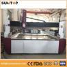 China Aluminium alloy cnc water Jet cutting machine 0-15meter/min 3.7L/min wholesale