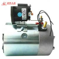 China Carbon Brush Hydraulic Pump Motor 12 V 1.6 KW 114mm O.D. 6N.M Torque wholesale