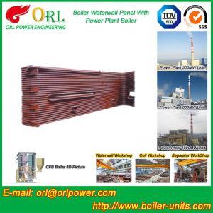 China Power Station Boiler Water Wall Natural Circulation High Temperature wholesale