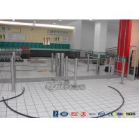 Quality Low Noise Electric Swing Gates Stainless Steel Entrance For Motorcar Control for sale