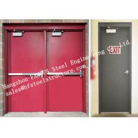 China Residential Steel Fire Resistant Industrial Garage Doors With Remote Control wholesale