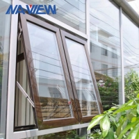 China New Construction Modern Aluminum Custom Low Price Replacement Awning Windows wholesale