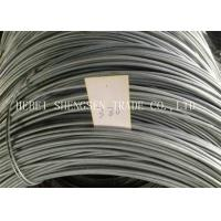 China Electro Galvanized Loop Tie Wire Non - Alloy BWG8 - BWG22 0.3mm - 13mm wholesale