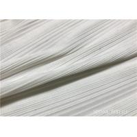 China Knitting Compression Eco Friendly Fabric , Solid Colors Swimwear Material Fabric on sale