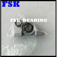 China Miniature UP000+ ER UP001+ ER Pillow Block Bearings Zinc Aluminum Alloy With Eccentric Collar wholesale