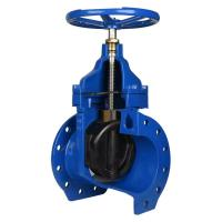 China Bolted Bonnet Structure Pneumatic Gate Valve With Handwheel CE Approved wholesale