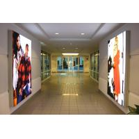 China Super Slim Frameless Textile Light Box Full Color , Freestanding Lightbox wholesale