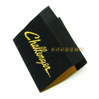 China Damask Woven Clothing Labels With Centerfold , Woven Name Tags For Clothes wholesale