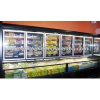 China Commercial Combined Frige Freezer Six Doors 1600w For Supermarket wholesale