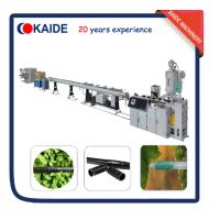China Inline Cylinder PE Drip Irrigation Pipe Machine Supplier KAIDE factory wholesale