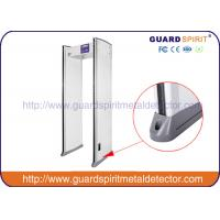 China OEM / ODM 6 multi zones high sensitive Walk Through Metal Detector Door Frame wholesale