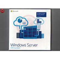 China Full Version Microsoft Server 2016 Standard  Retail DVD Key Card 64 Bit wholesale