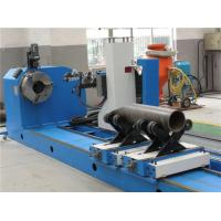 Quality CNC Flame / Plasma Pipe Profiling Cutting Machine , High Accuracy Pipe Cutting for sale
