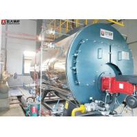 China WNS Horizontal Oil Fuel 10 Ton Industrial Steam Boiler Diesel For Tobacco on sale