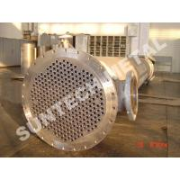 China Shell Tube Heat Exchanger Chemical Process Equipment 1.6MPa - 10Mpa wholesale