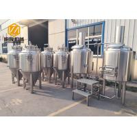 Quality Electric Heating Small Brewery Equipment 200L With 8 Fermentation Tanks for sale