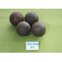 Quality High Hardness Unbreakable Forged Grinding Steel Ball for Mines / Chemical for sale
