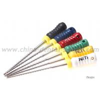 China Nickel Titanium Rotary Endo Files , Dental H File Endodontics For Endodontic Treatment wholesale