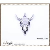 China Hot sell 316 Stainless Steel Death's-Head Pendant H-L2196 wholesale
