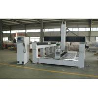 China Plywood / PE / Foam 5 Axis CNC Router Machine With Economic 5 Axis Head wholesale