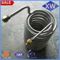 China Per kg titanium coil tube price on sale