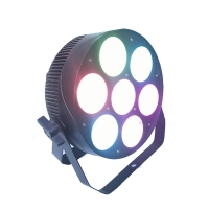 China 7PCS 30W RGBW 4in1 LED Par Can Lights DMX512 Cob Par wholesale