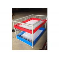 China Commercial Two Layers Mobile Promotion Display Counter Four Feet For Supermarket wholesale