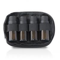 China Nylon Essential Oil Storage Case 2 Bag Set With 4 Bottle Keychain Case wholesale