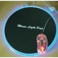 China Magic light mouse pad wholesale