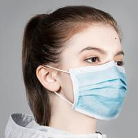 China Adult Disposable Surgical Face Mask Ear Loop / Tie On Style Comfortable To Wear wholesale