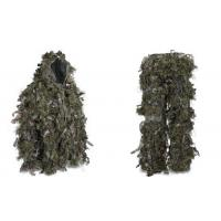 China Hybrid Woodland Camouflage Ghillie Suit Lightweight Military Style Ghillie Suit wholesale