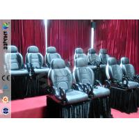 Quality Durable Electric Motion 5D Theater Chair Special With 6 Effects for sale